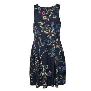 Ivanka Trump Layered Floral Dress Size 10 New